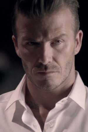 David Beckham in his new fragrance advert