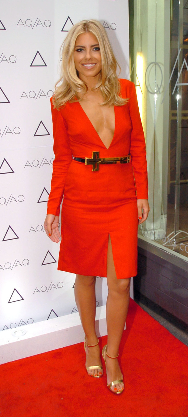 Mollie King at the AQ/AQ Relaunch Party