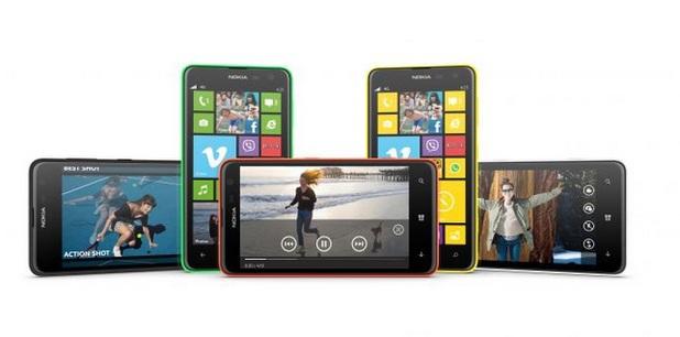 Nokia's Lumia 625 smartphone