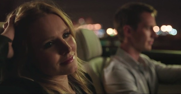 Kristen Bell and Jason Dohring in the 'Veronica Mars' movie