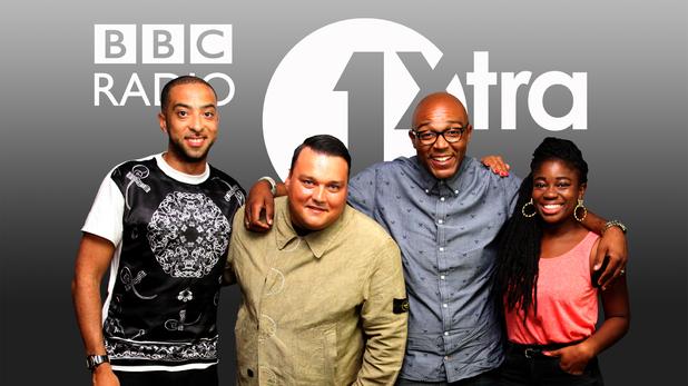 MistaJam, Charlie Sloth, DJ Target, Clara Amfo for Radio 1Xtra