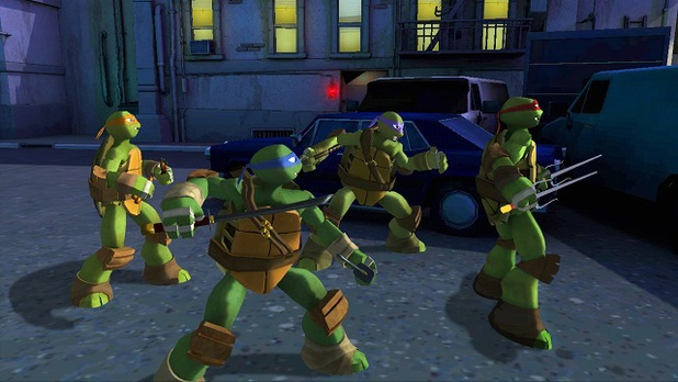 Activision's Teenage Mutant Ninja Turtles