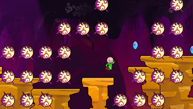 Cloudberry Kingdom is a procedurally generated platformer for Xbox 360, PS3, PC and Wii U