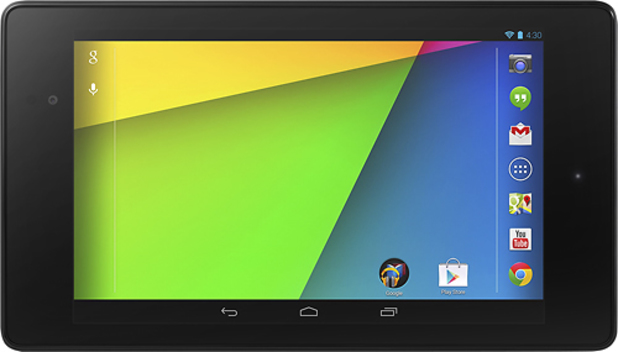 Best Buy picture showing the new Google Nexus 7