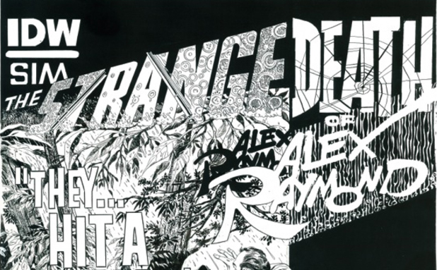 Dave Sim's 'The Strange Death of Alex Raymond'