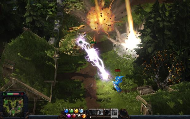 'Magicka: Wizard Wars' screenshot