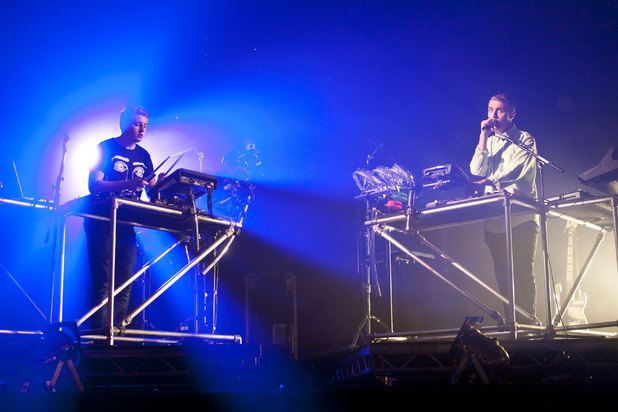 Disclosure performing on day 3 of Latitude Festival 2013 in Suffolk
