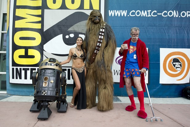 Comic-Con attendees