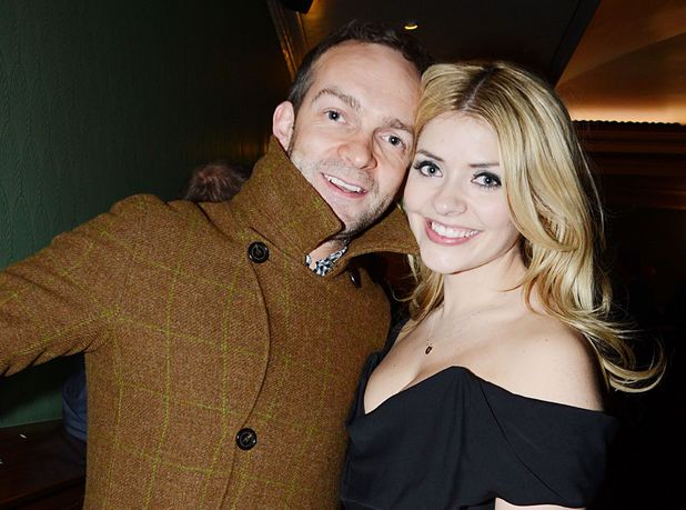 Holly Willoughby and Dan Baldwin, Viva Forever! press launch -- December 11, 2012