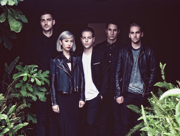 The Naked And Famous press shot 2013.