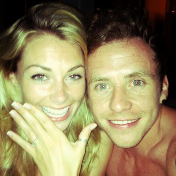 Danny Jones and Georgia Horsley get engaged