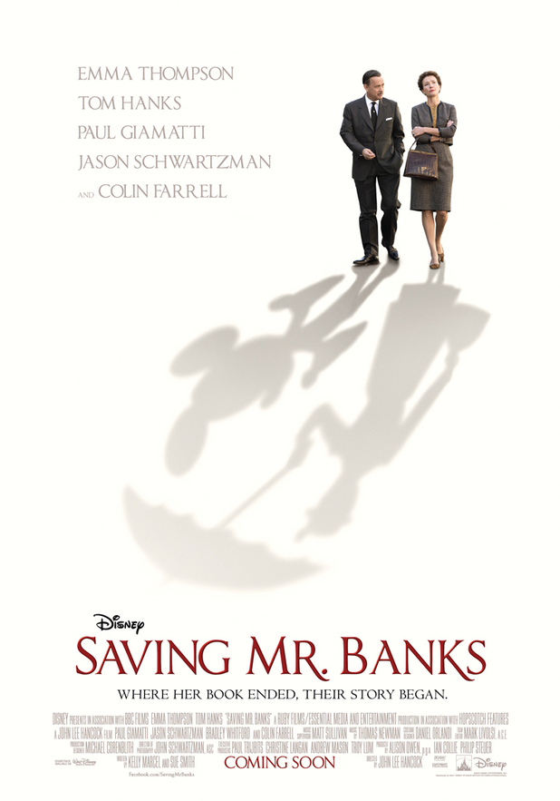 'Saving Mr Banks' UK teaser poster