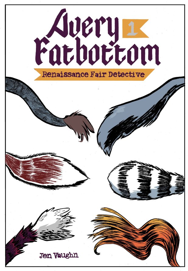 'Avery Fatbottom: Renaissance Fair Detective' cover artwork