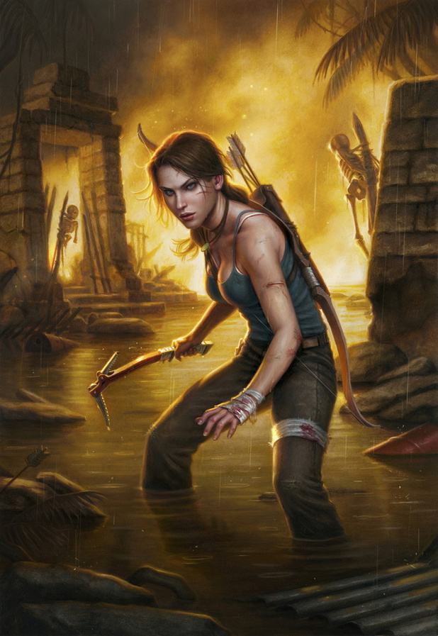 Gail Simone's 'Tomb Raider' artwork