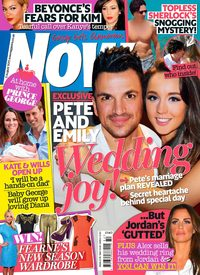 Now Magazine cover July 2013