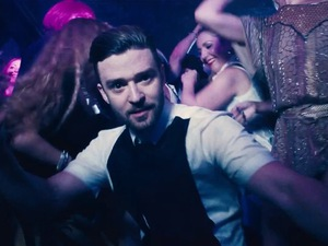 Justin Timberlake 'Take Back the Night' music video.