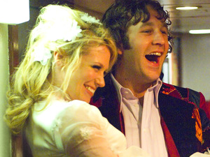 January Jones, Chris O'Dowd in The Boat That Rocked