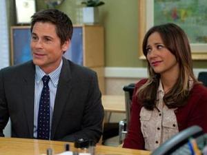 Rob Lowe & Rashida Jones in 'Parks and Recreation'
