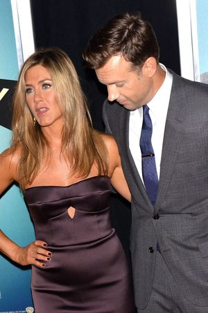 'We're the Millers' film premiere, New York, America - 01 Aug 2013 Jennifer Aniston, Jason Sudeikis 1 Aug 2013