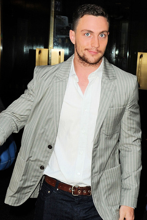 Aaron Taylor-Johnson visits the Today Show -- July 29, 2013