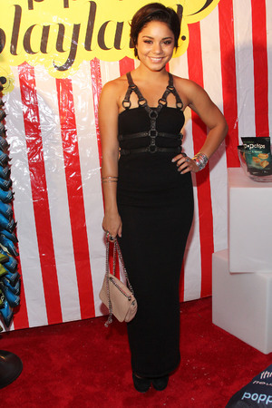 Vanessa Hudgens attends Popchips Playland at New York Fashion Week's Fashion's Night Out on September 8, 2011 in New York City