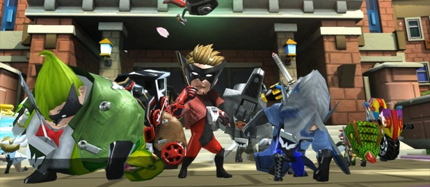 The Wonderful 101 sees a group of super heroes team together on Wii U