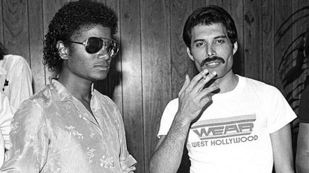 Michael Jackson, Freddie Mercury