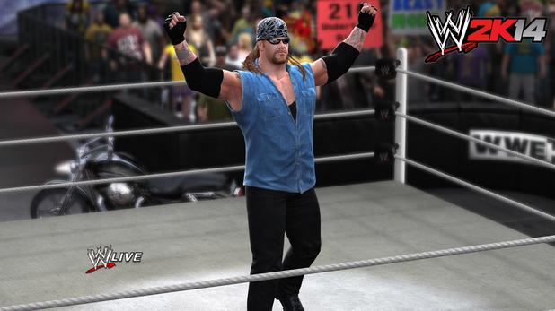 'American Badass' Undertaker in WWE 2K14