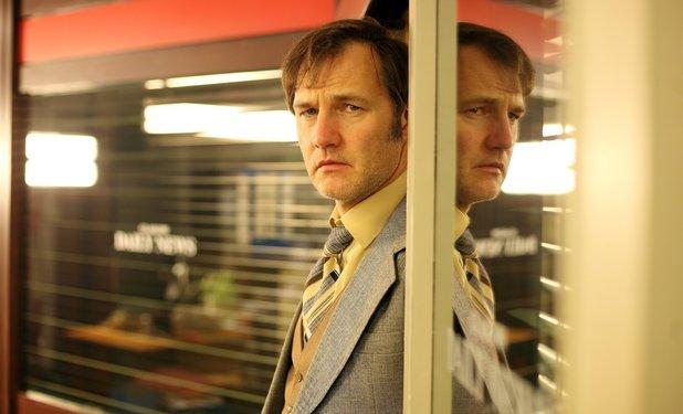 David Morrissey as Murray Devlin in 'Field of Blood: The Dead Hour'