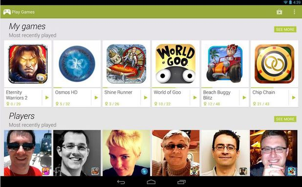 Google Play Games on Android