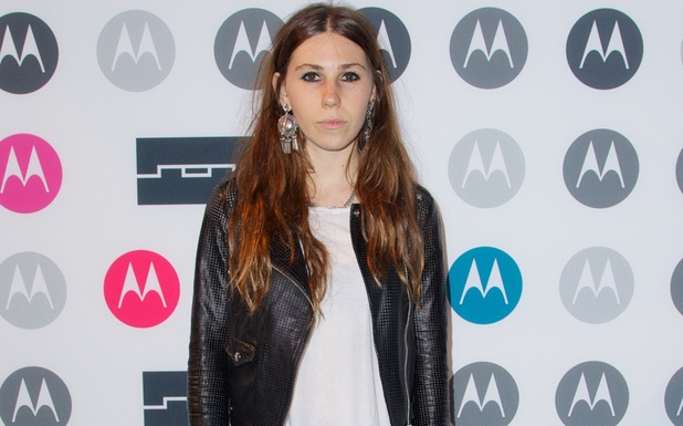 Zosia Mamet at the Moto X launch party