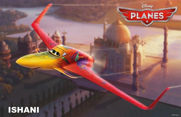 Priyanka Chopra's Planes character Ishani