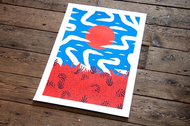 Dominic Kesterton's ELCAF Print