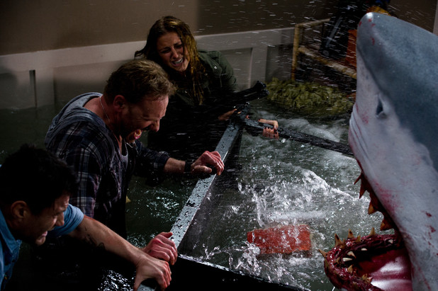 Ian Ziering in Sharknado