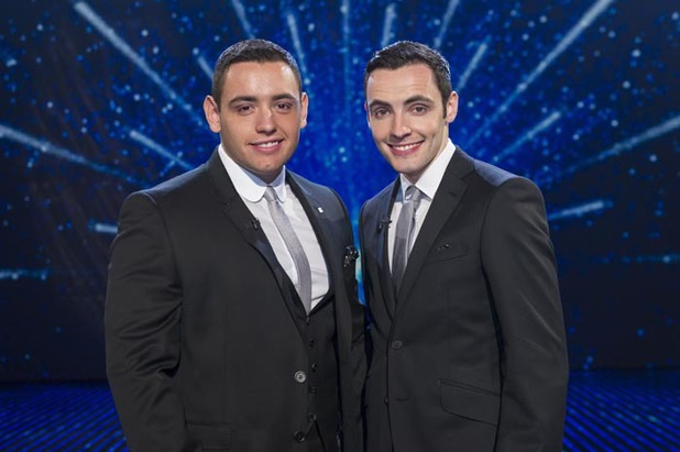 Britain's Got Talent singers Richard & Adam