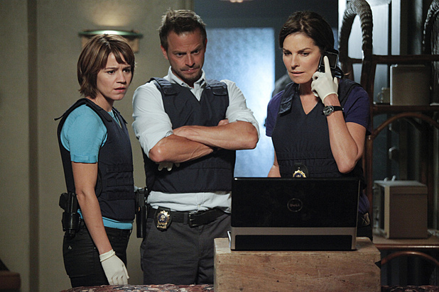 Sela Ward as Det. Jo Danville in CSI