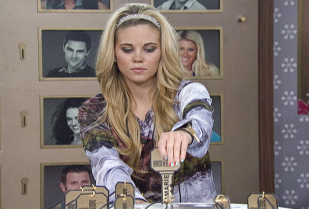 Aaryn during the Nomination Ceremony