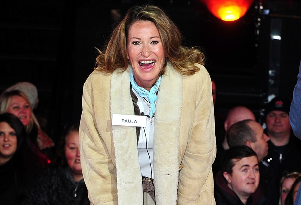Paula Hamilton arriving at the launch of Celebrity Big Brother 2013, Elstree Studios, Borehamwood.