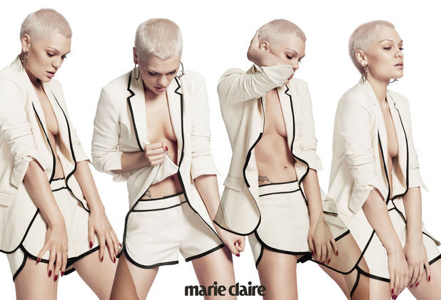 Jessie J in the September issue of Marie Claire