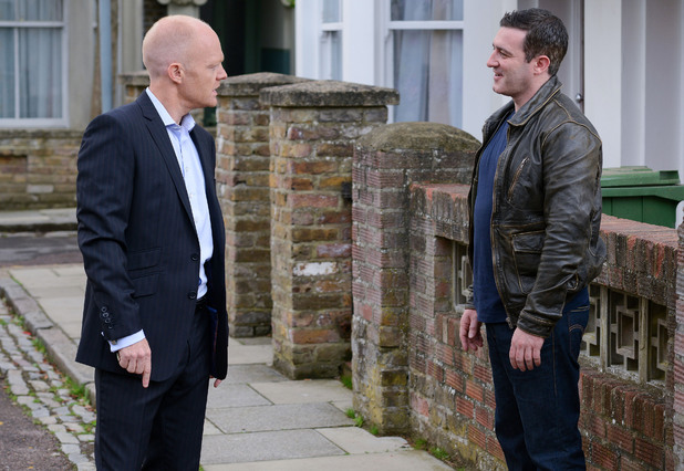 Carl calmly promises Max that he will get Kirsty back in three weeks' time - on the date that should have been their wedding anniversary.