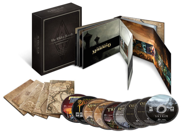 Elder Scrolls Anthology hits PC this September