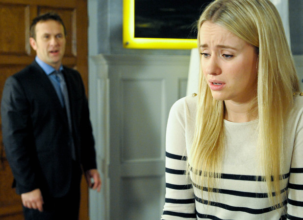 Declan realises Katie was behind the police call.