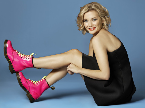 Rachel Riley gets ready for the Shine UK walk