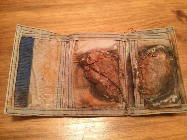 Wallet returned 24 years after loss