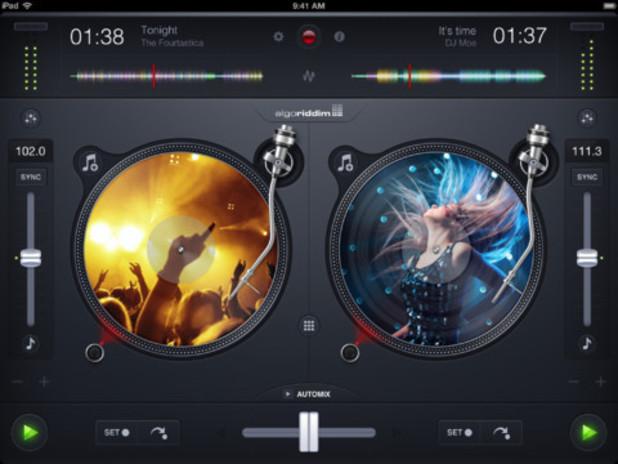 djay 2 on iOS