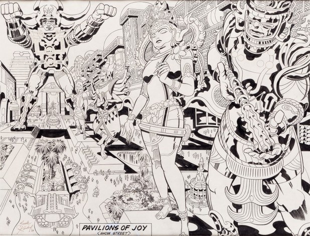 Jack Kirby's 'Lord of Light'/'Argo' artwork