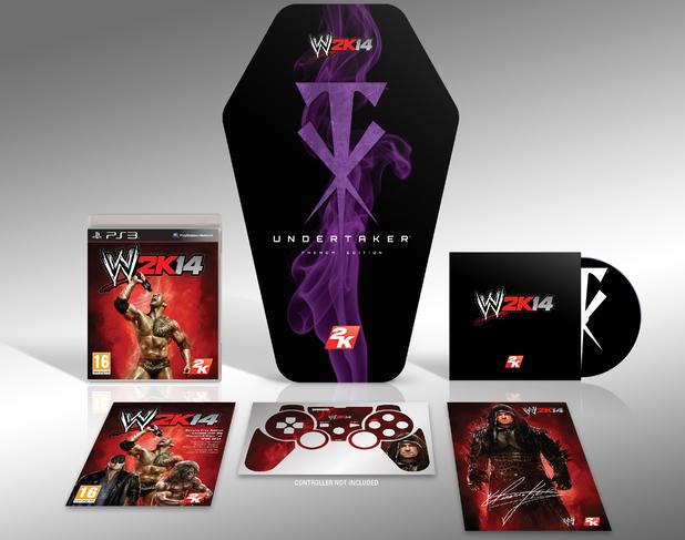 """WWE 2K14 Special """"Phenom edition"""""""