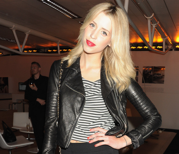 Peaches Geldof at the BMW i3 launch