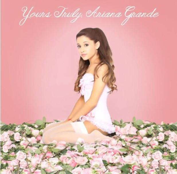 Ariana Grande 'Yours Truly' album artwork.