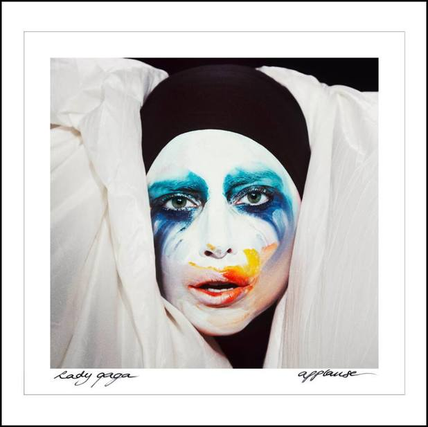 Lady Gaga 'Applause' artwork HQ